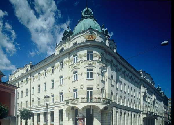 grand, hotel, union, executive, ljubljana, slovenia