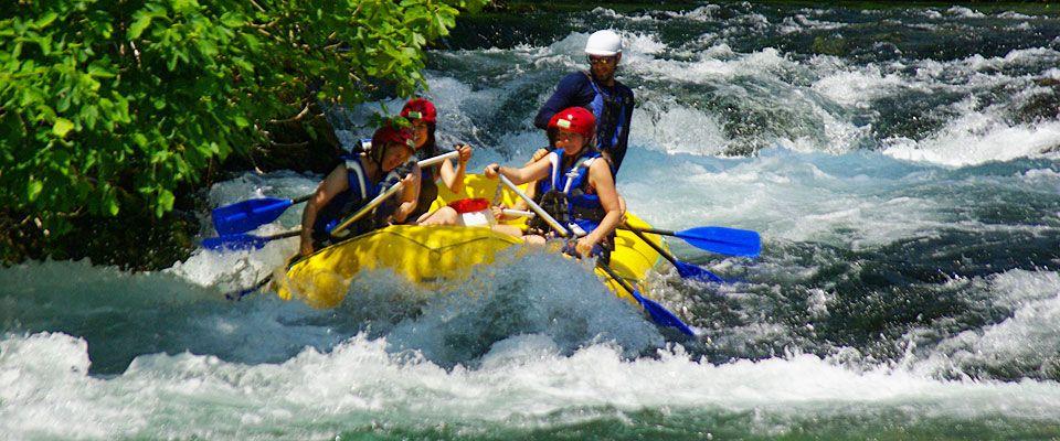cetina, rafting, river