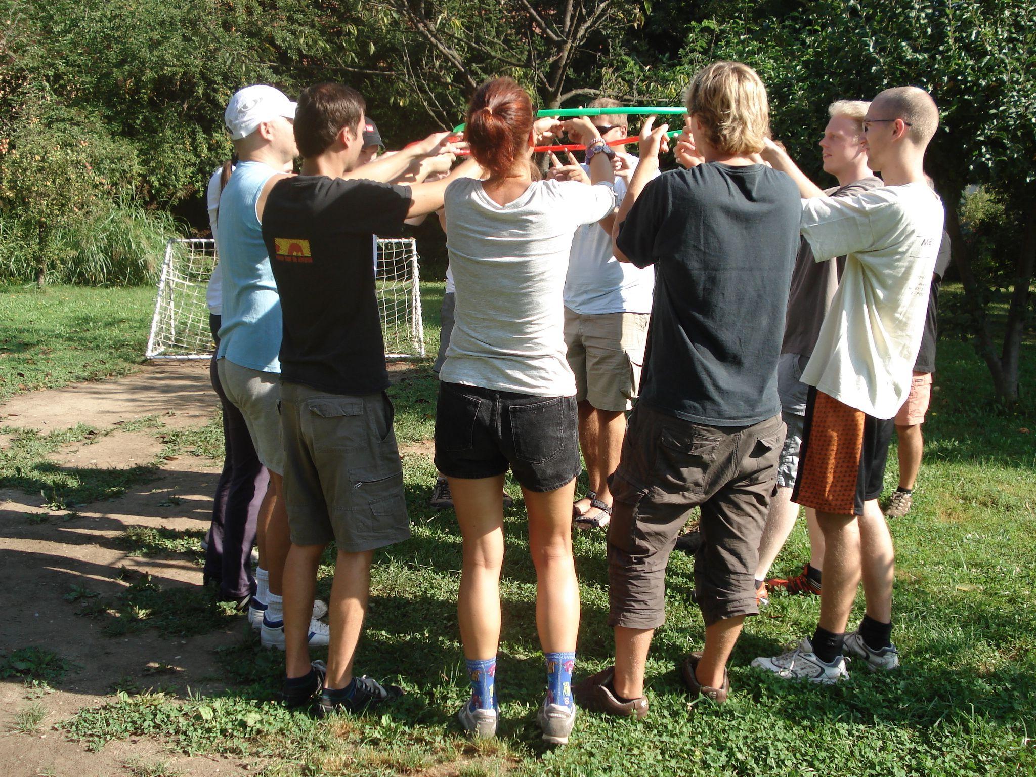 outdoor, team, development
