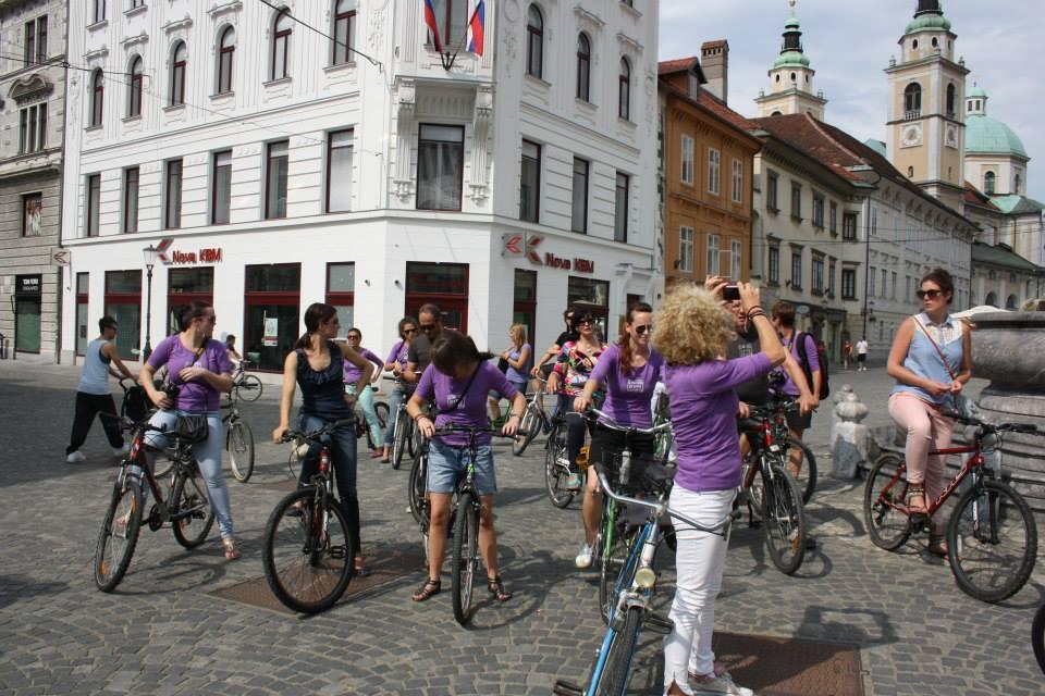 ljubljana, cycling, tour