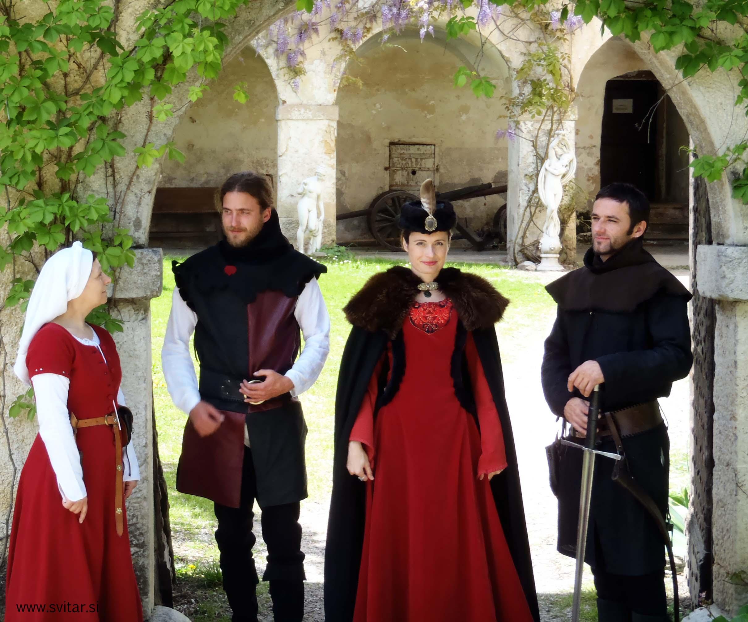 medieval, story, struga, castle