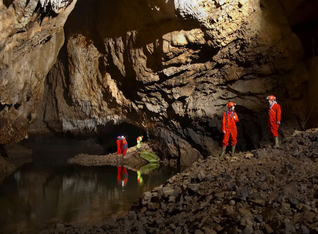 explore underground world