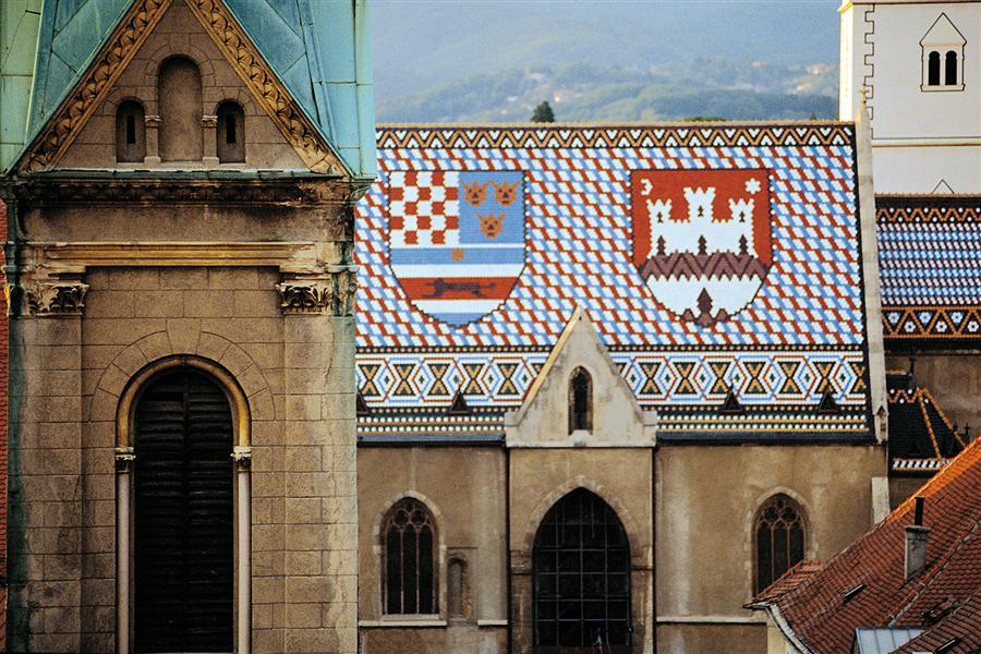 zagreb, stari, grad, croatia