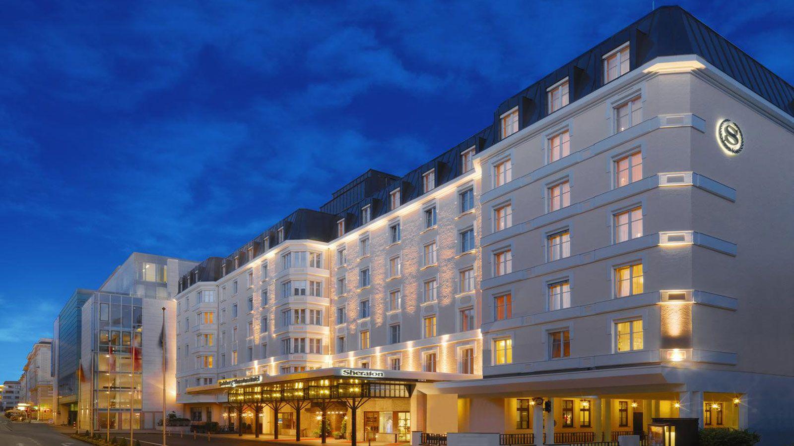 Sheraton grand salzburg debuts in austria kongres for New design hotels 2016