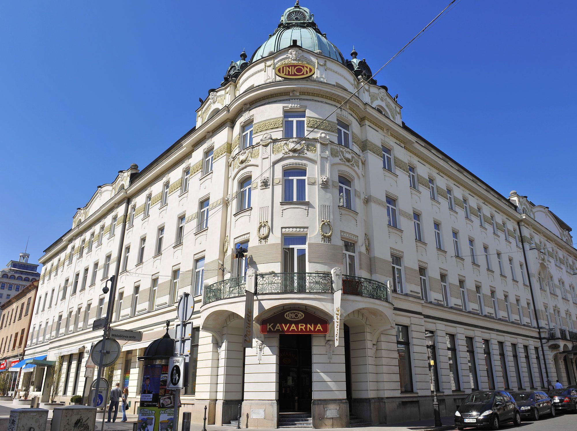 Grand hotel union designed in the art nouveau style for Design hotel ljubljana