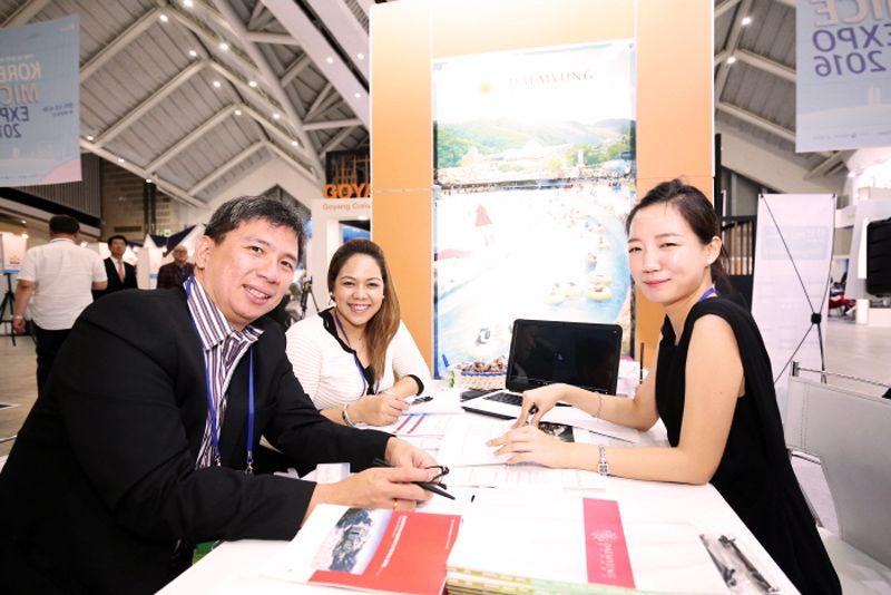 Αποτέλεσμα εικόνας για Korea's Leading Business Events' Trade Show