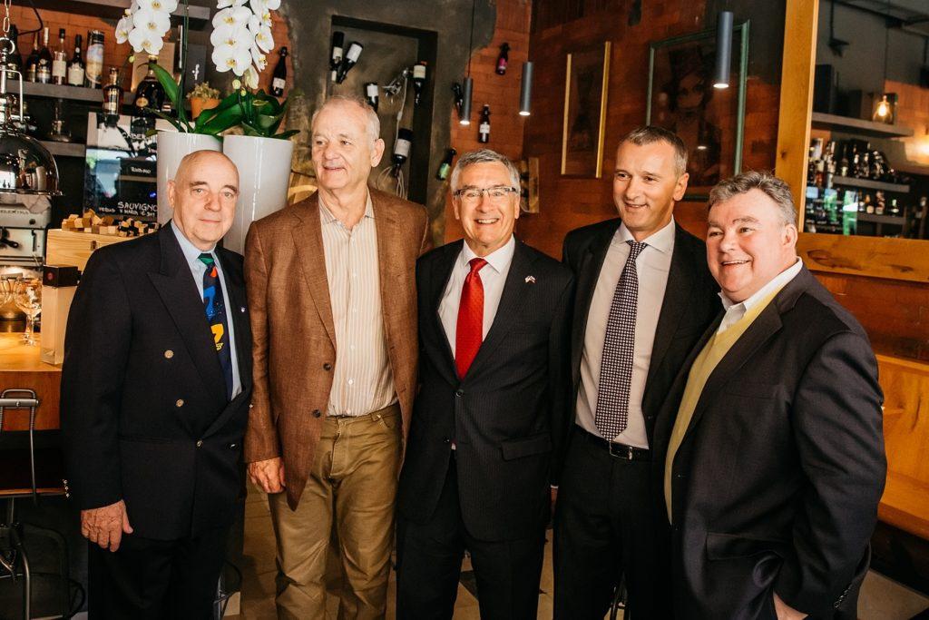 Bill Murray in Slovenia