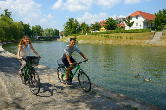 Cycling in Ljubljana