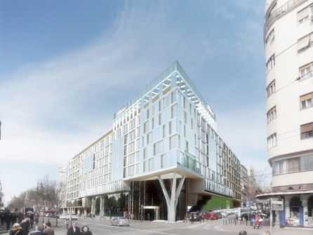 Upscale hilton hotel opening in serbia 39 s capital city for Design hotel belgrade