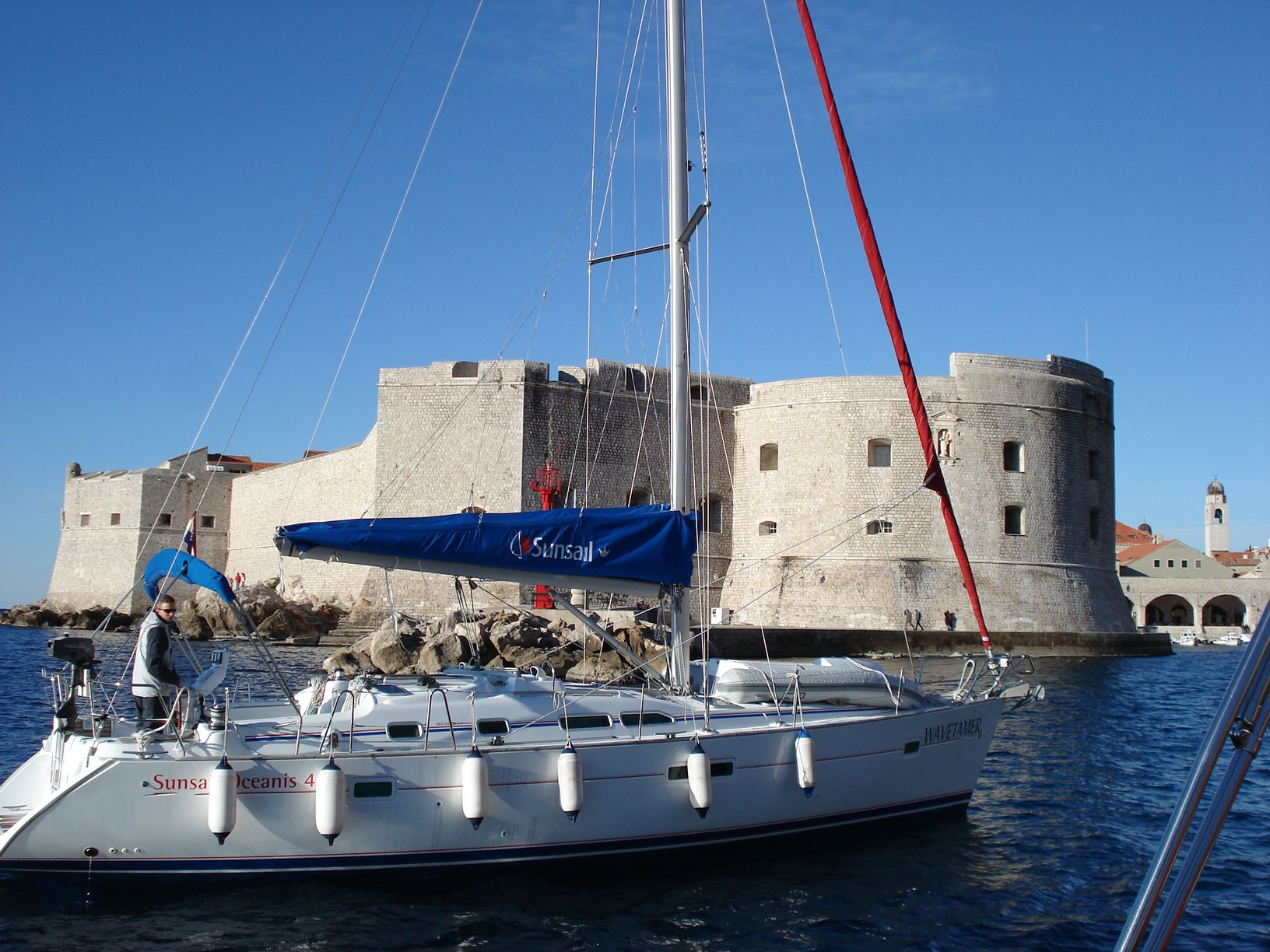 sailing, adriatic, sea