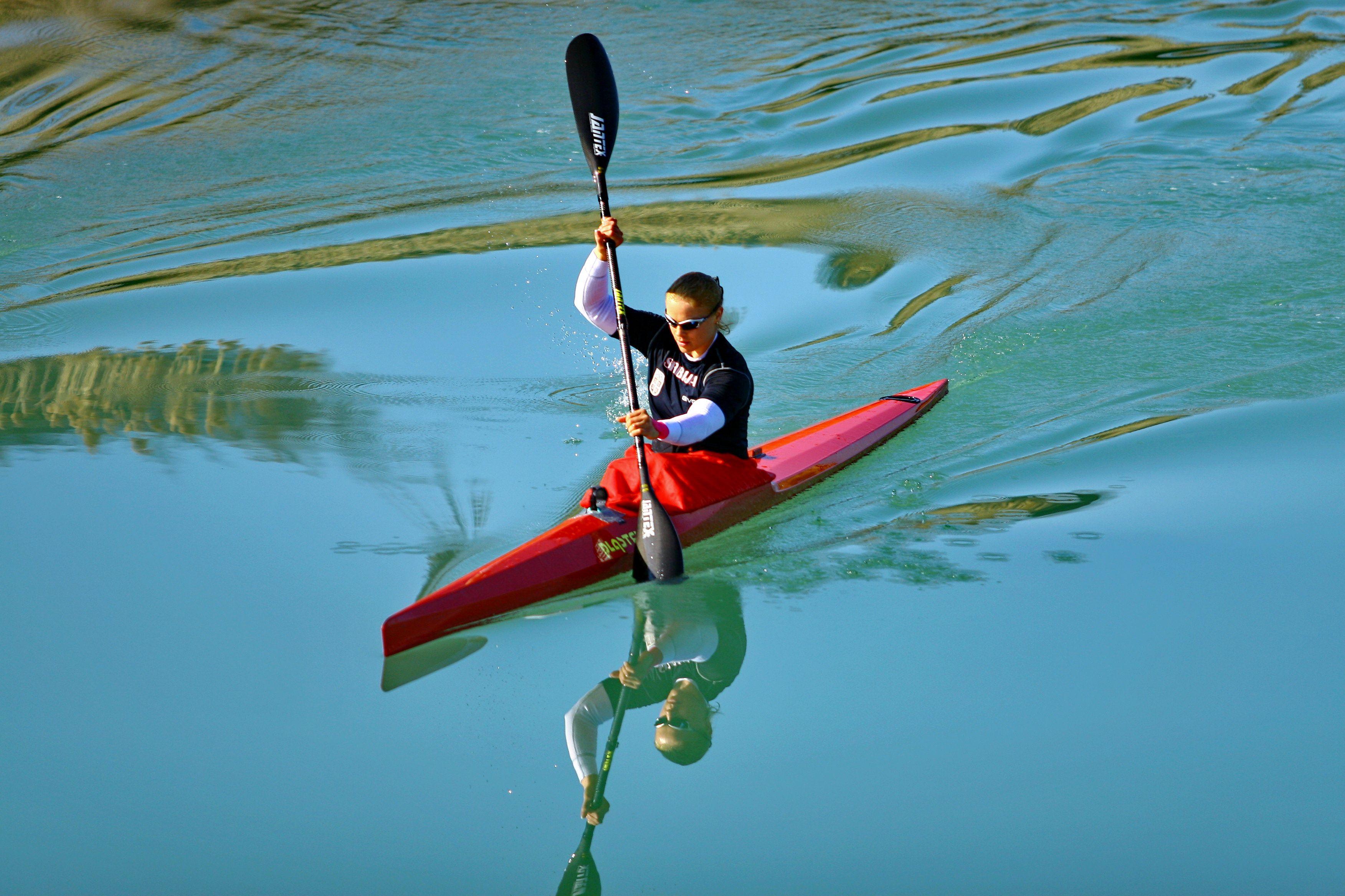kayaking, mirna, river