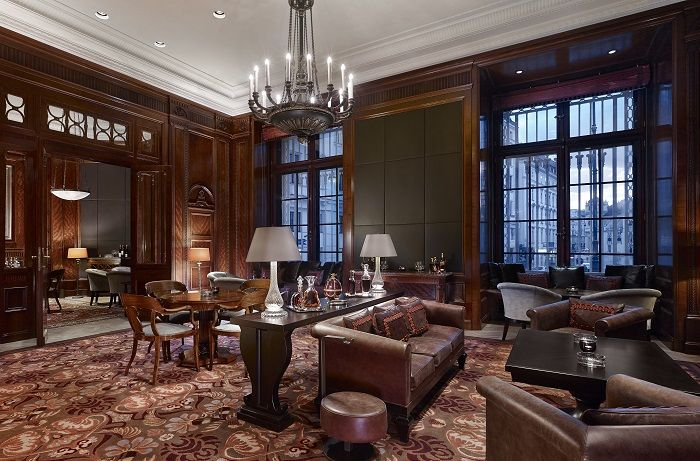 cigar, lounge, living, room