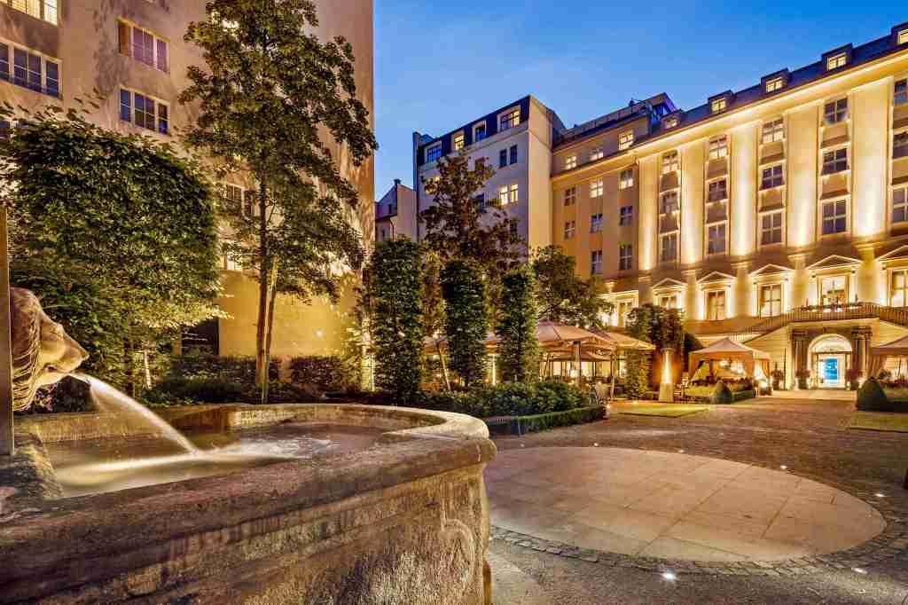 the mark, hotel, prague, garden