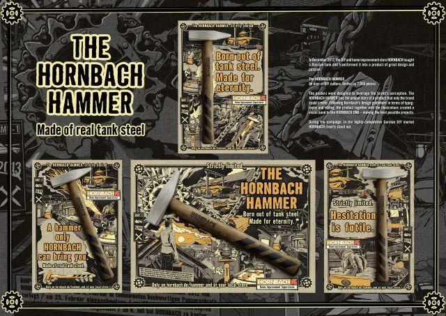hammer, intercontinental, advertising, cup