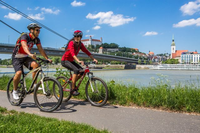 Bratislava cycling routes