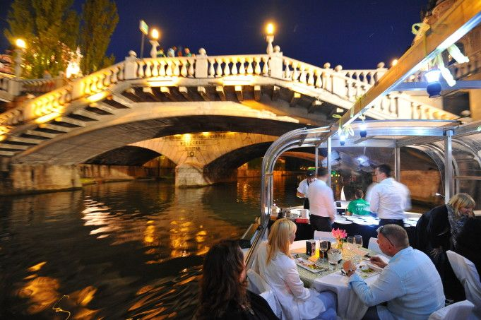 The culinary adventure on the river