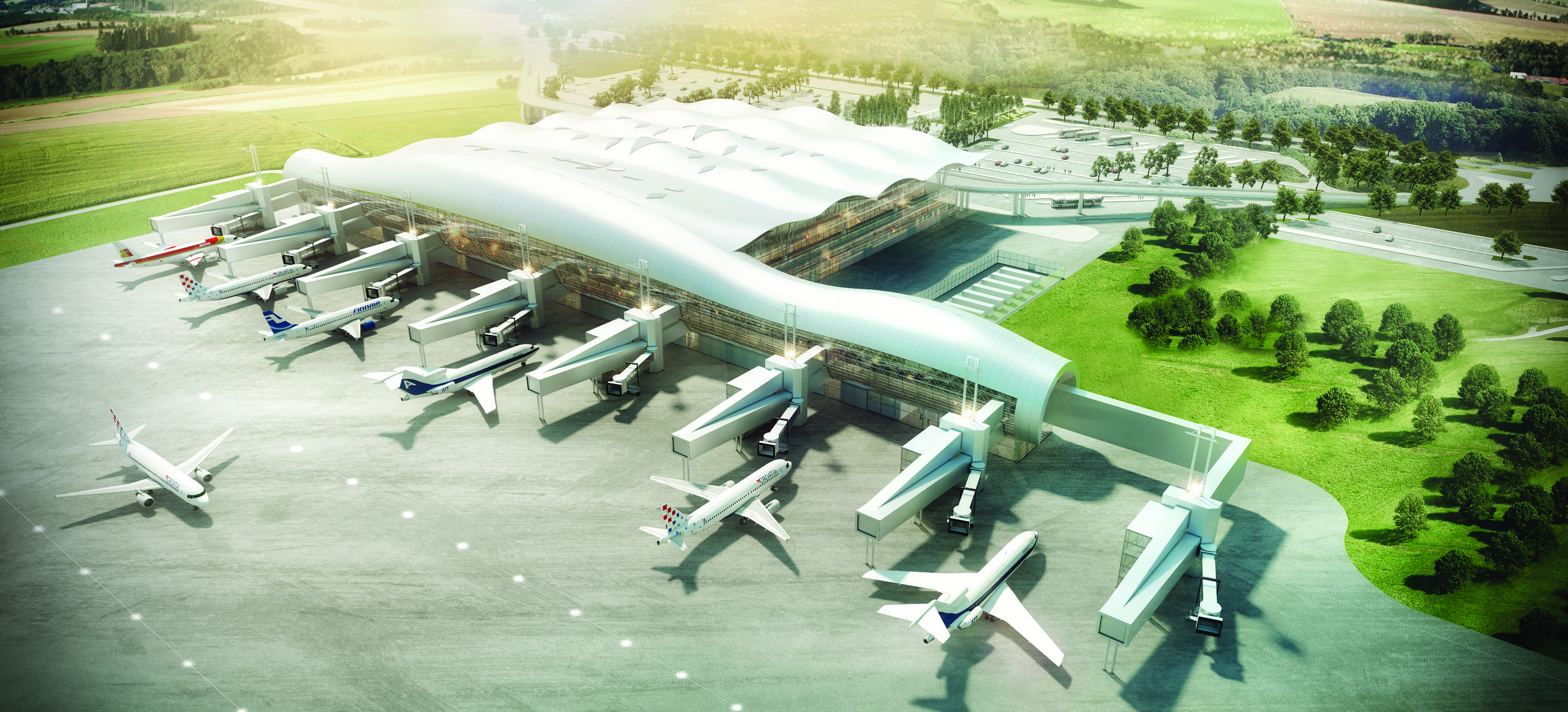 Zagreb Airport Close To Us Flight Deal Kongres Europe Events And Meetings Industry Magazine