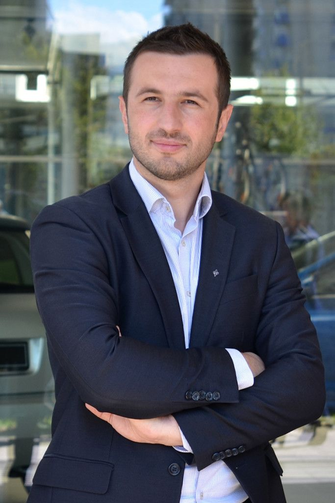 Mr. Semir Efendić, youngest Mayor in BiH and the Mayor of Municipality Novi Grad Sarajevo