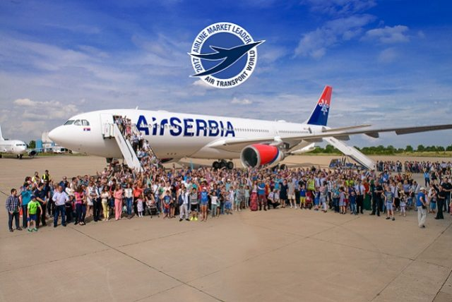 Air Serbia named 2017 Airline Market Leader by Air Transport