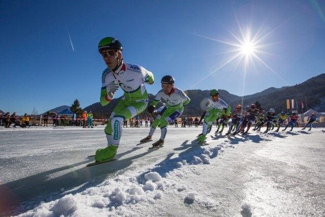 Winter in Carinthia with thrilling sport events