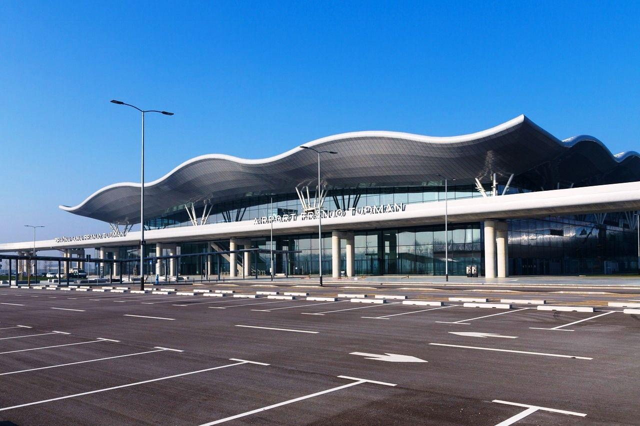 Flughafen Zagreb Ankunft