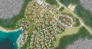 Planned Four Seasons Resort in Brizenica Bay