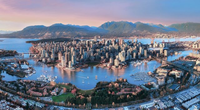 Aerial_Sunset_Vancouver