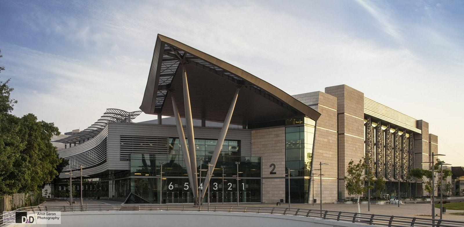 tel aviv convention center pavilion 2 - HD1600×784