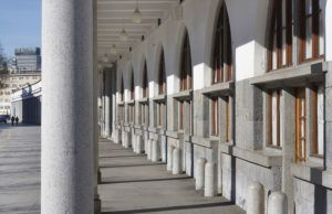 Plečnik's colonnades