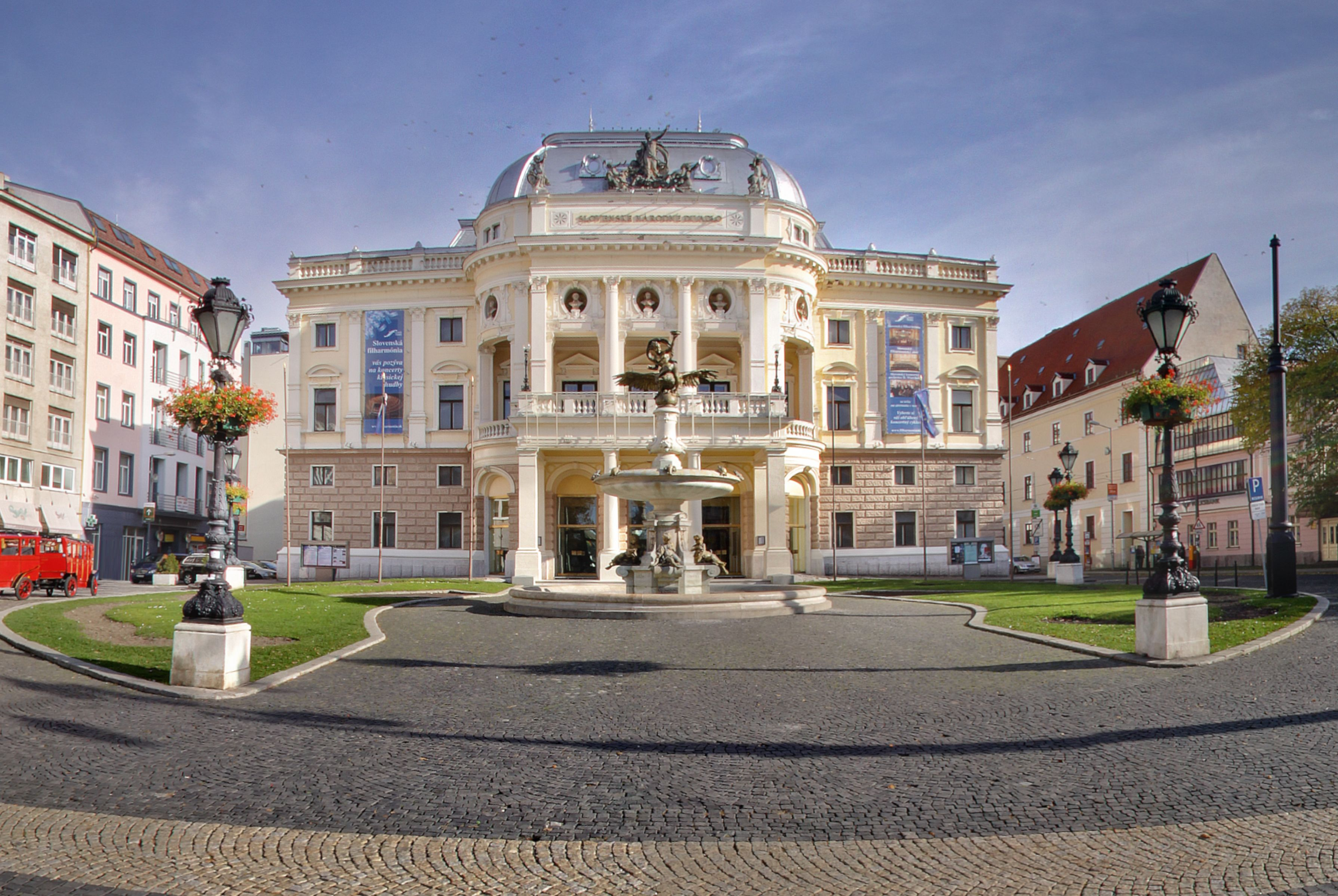 The Historical building of Slovak National Theater - KONGRES