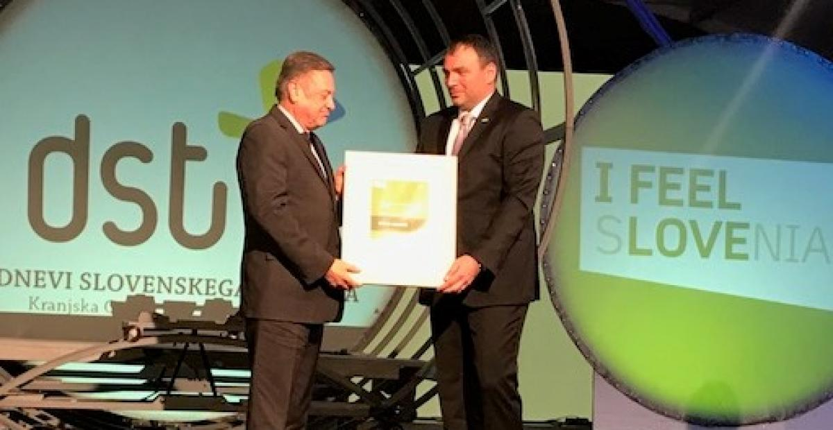 Tourism and Hospitality Chamber of Slovenia awarded