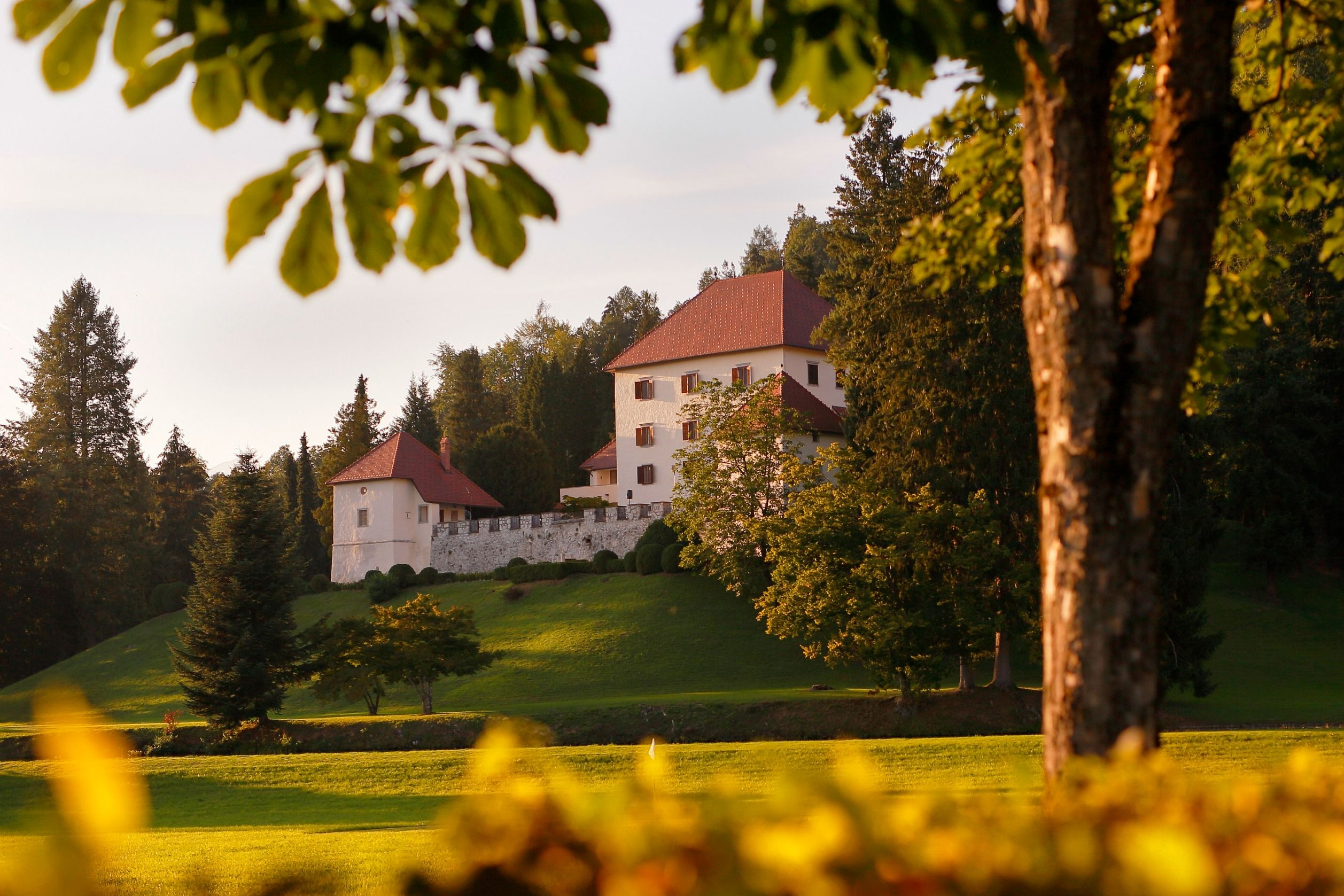 the original ambience of one of the oldest and the best preserved slovenian castles and relaxing atmosphere in the heart of the nature will amaze you
