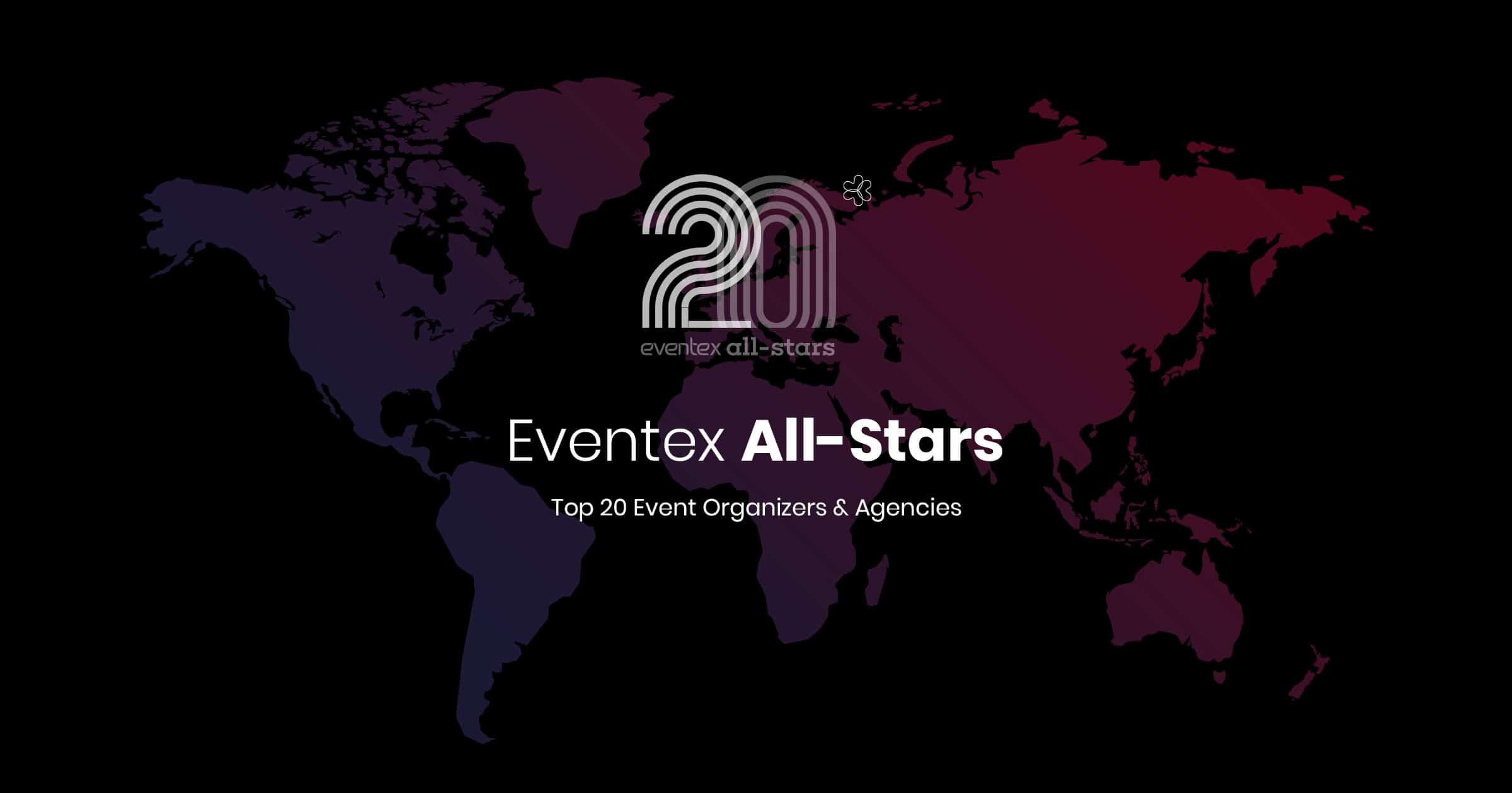 Αποτέλεσμα εικόνας για All-stars: Top 20 event organizers and agencies for 2018