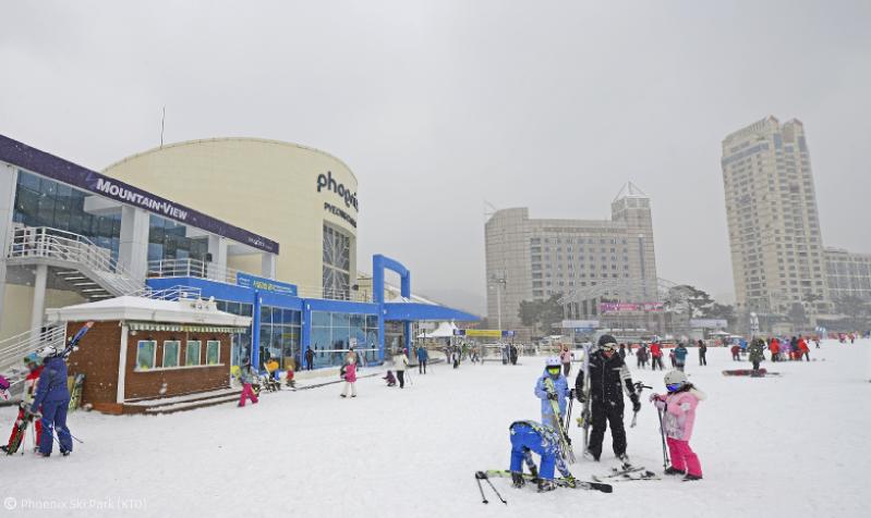 skiing_in_korea
