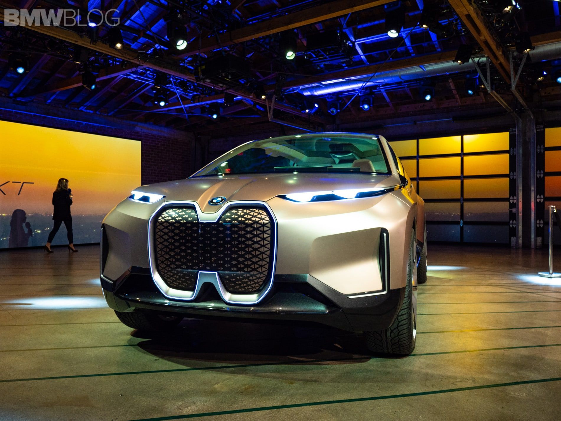 World premiere of BMW Vision iNEXT in LA - KONGRES – Europe