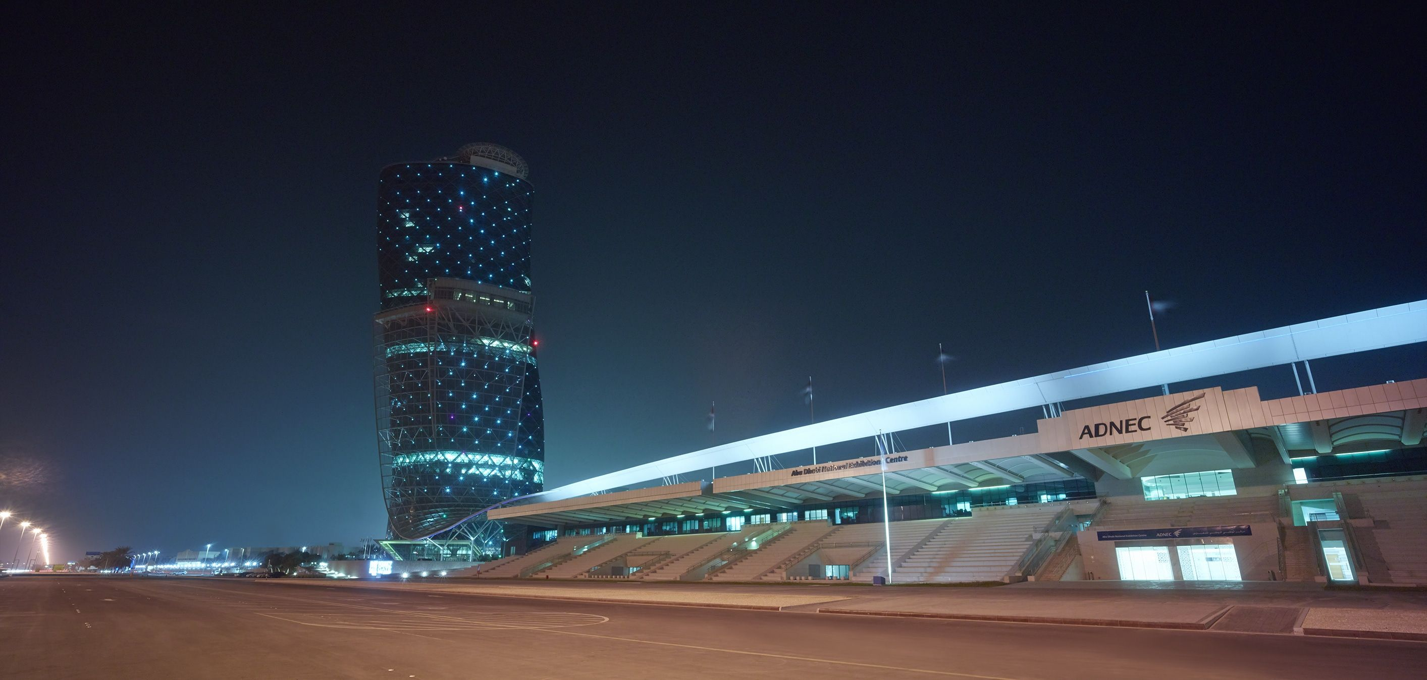 Abu Dhabi National Exhibitions Company Announces May's
