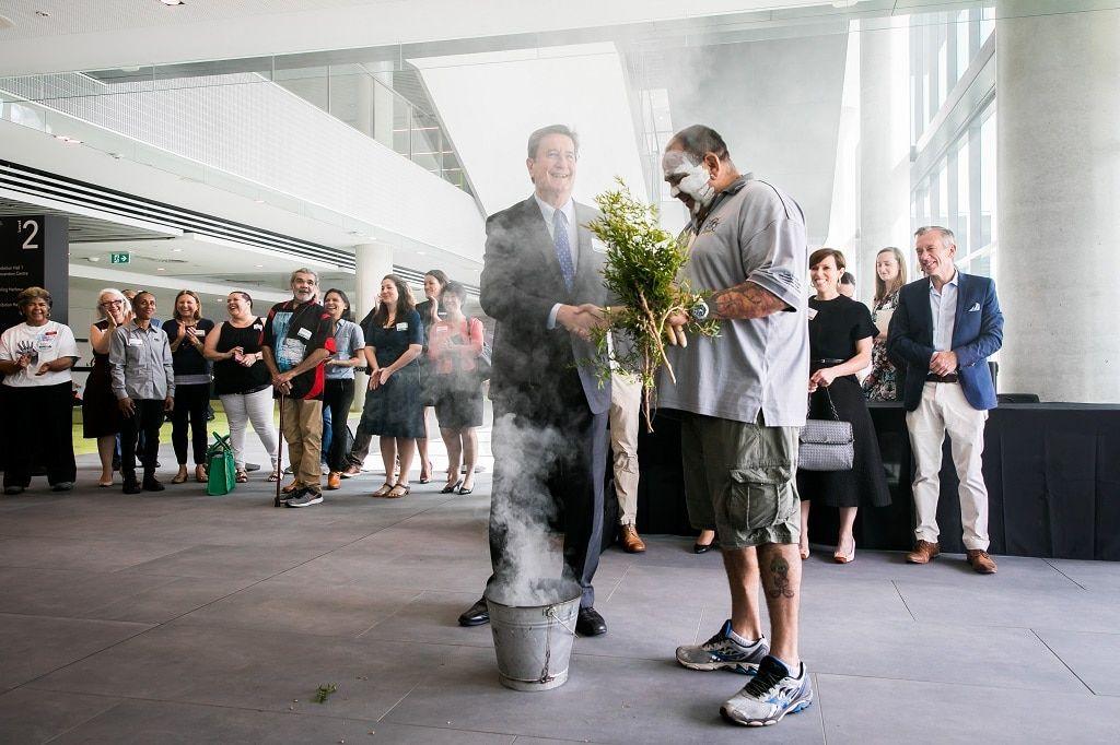 icc_sydney_plant_smoking_ceremony