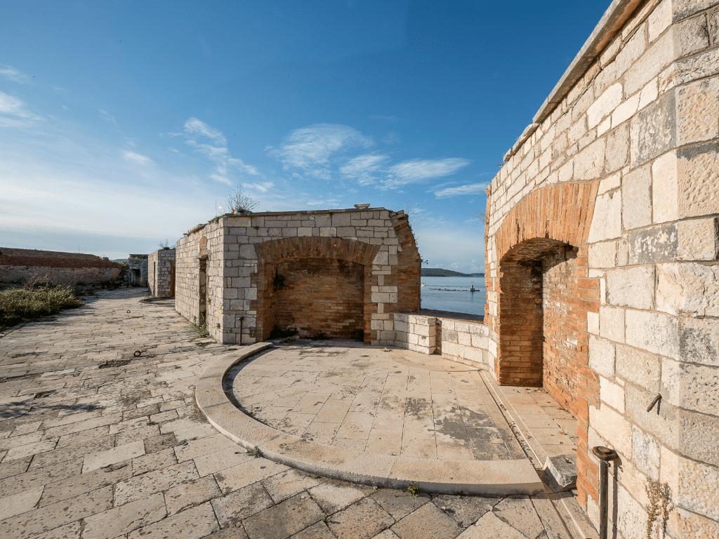 sibenik_nicholas_fortress