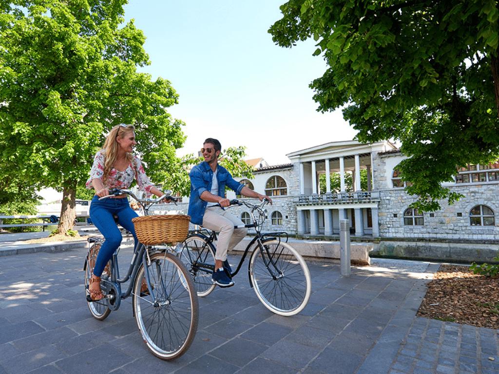 plecnik ljubljana bike tour