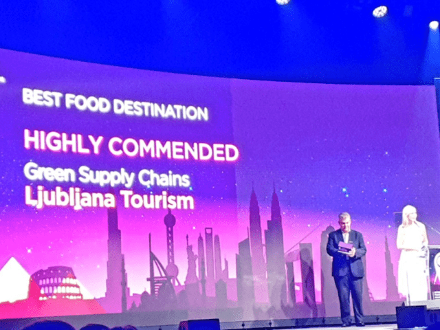 Ljubljana Best Food Destination WTM London ITTA