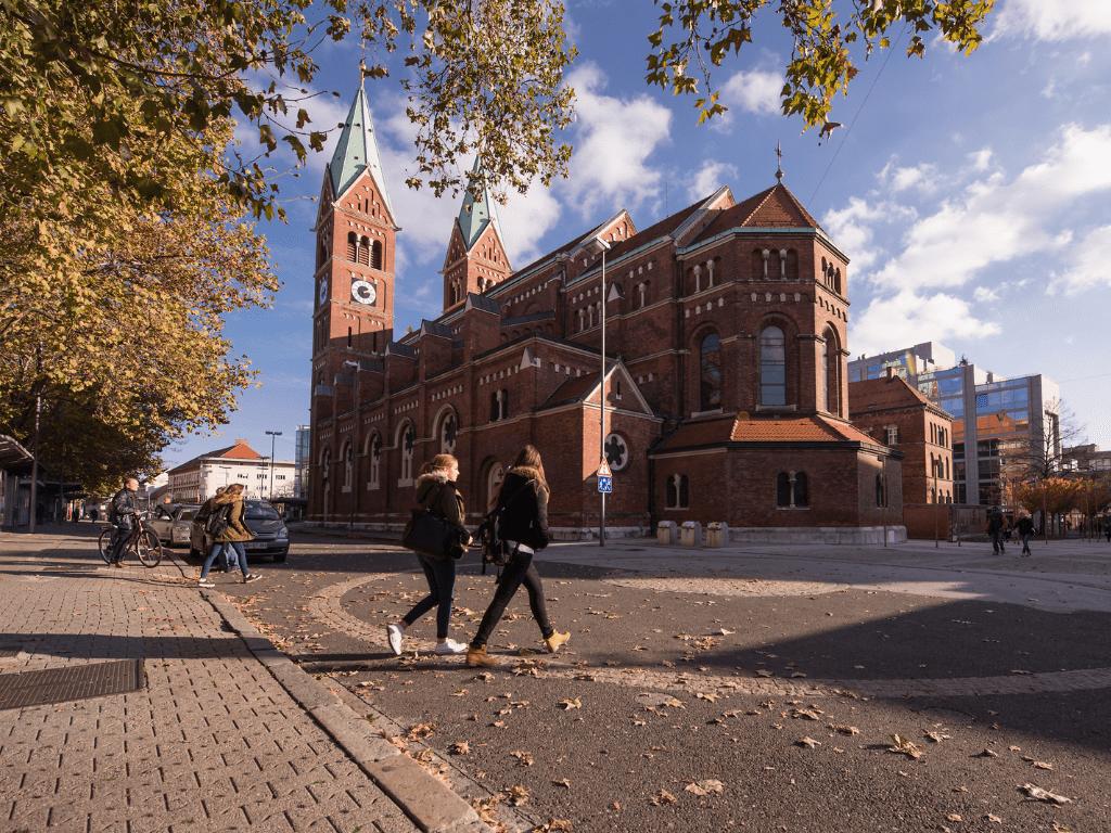 Maribor Franciscan Church Basilica