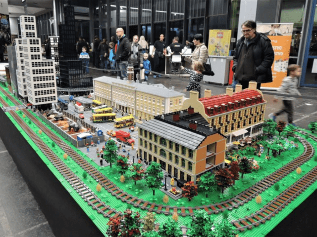 LEGO Exhibition at GR - Ljubljana Exhibition and Convention Centre 2019