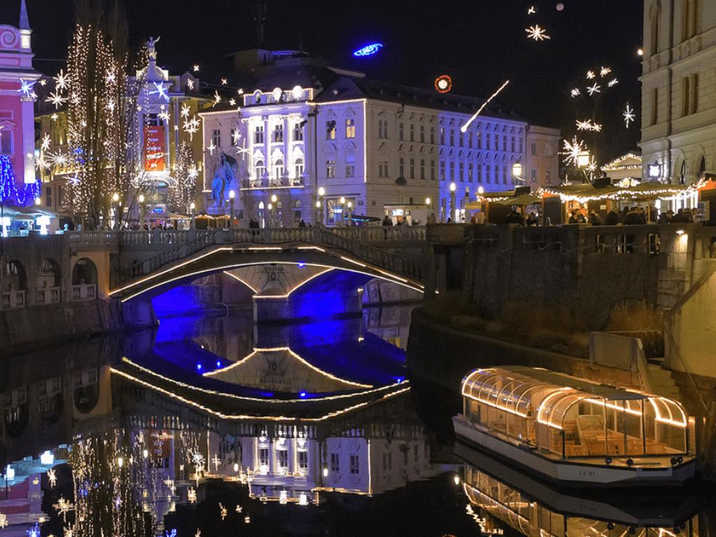 Ljubljana christmas december