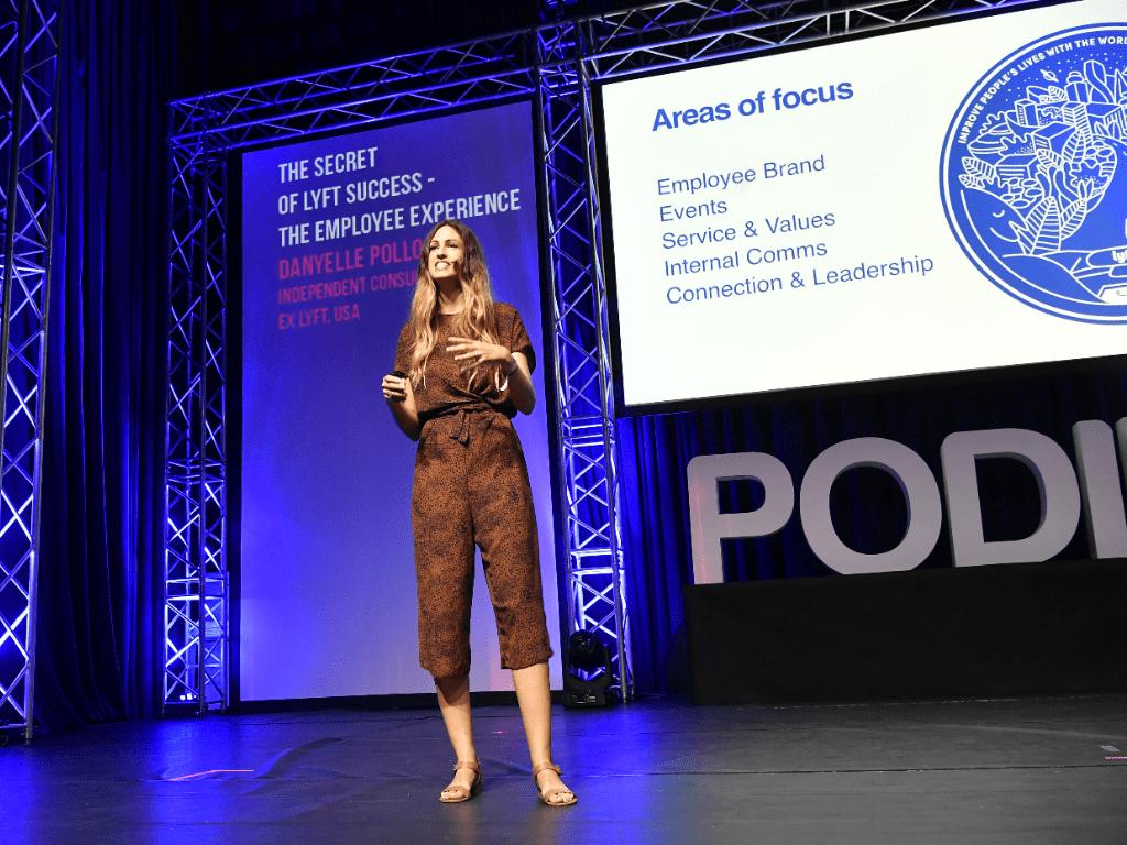 PODIM conference Maribor Danyelle Pollock