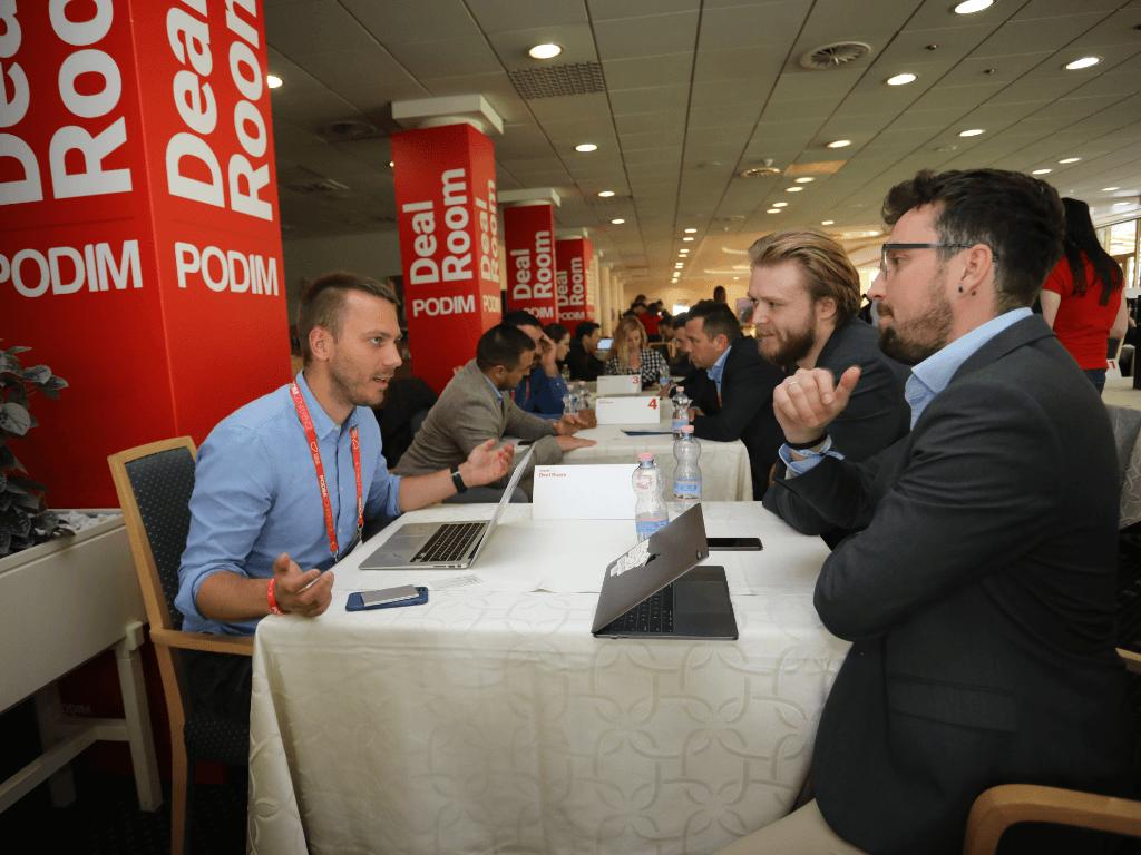 PODIM conference Maribor Deal Room