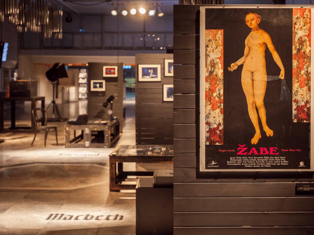 Vintage CD exhibition in Cankarjev dom