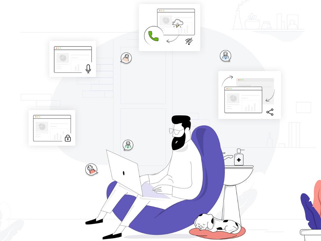 Virtual meetings software - Zoho Meeting