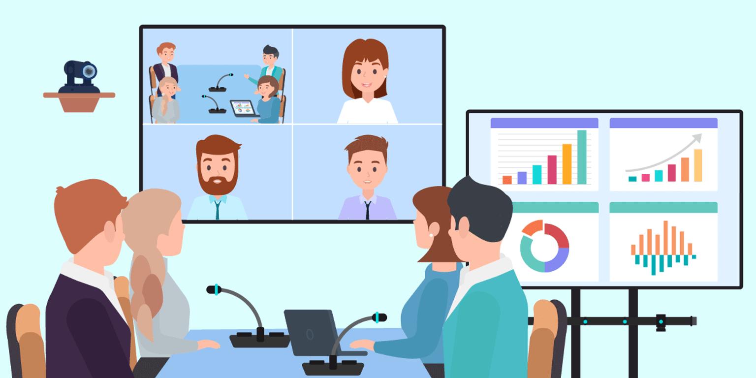 Virtual meetings: TrueConf -