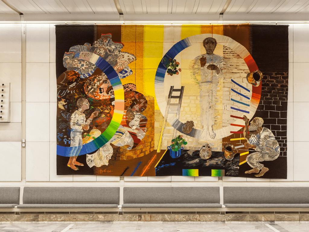 tapestries cankarjev dom