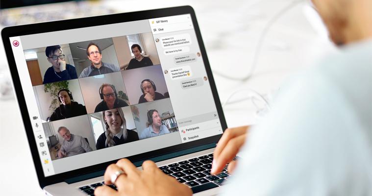 Virtual meeting software - eyeson
